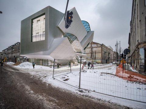 Daniel Libeskind - Łódź - specjalna strefa detalu