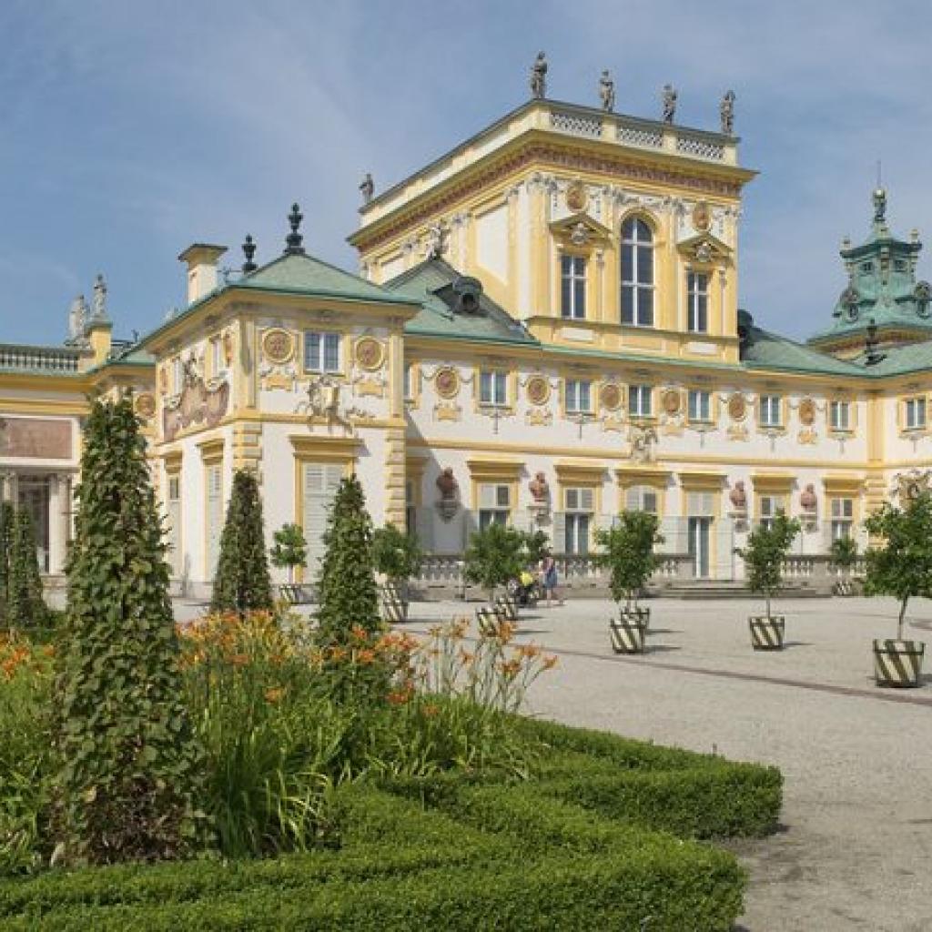 Ogród Wschodni, Taras Górny, Muzeum Pałacu Króla Jana III w Wilanowie