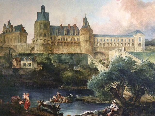 Robert Hubert - zamek Château de Gaillon