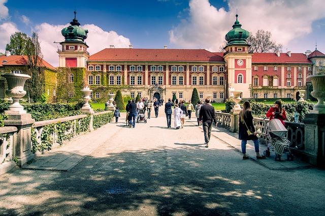 zamek -pałac w Łańcucie