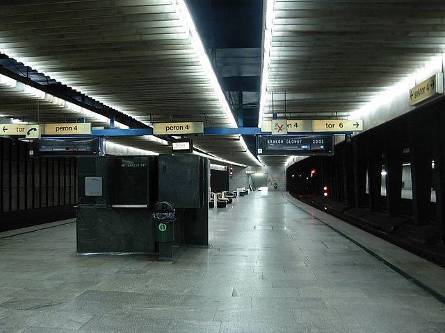 dworzec centralny w warszawie - zabytek - wnętrze