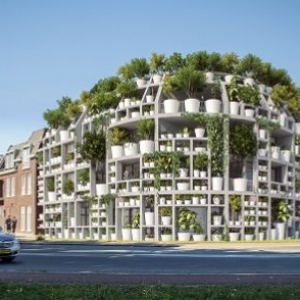 Zielony budynek mieszkalno-biurowy w Sint-Michielsgestel - Green Villa