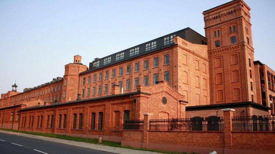 Przędzalnia w Księżym Młynie w Łodzi