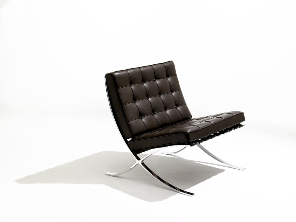 Barcelona Chair, Mies van der Rohe, 1929