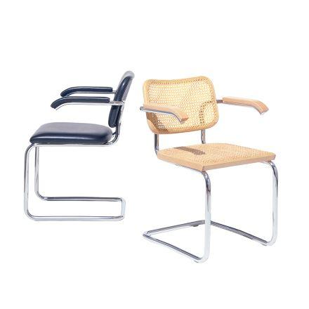 Cesca Chairs, Marcel Breuer, 1928