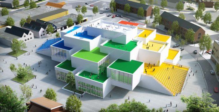 Dom Lego w Danii