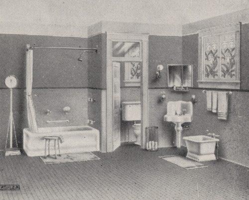 zabytkowa łazienka - projekt łazienki - pomysły i inspiracje