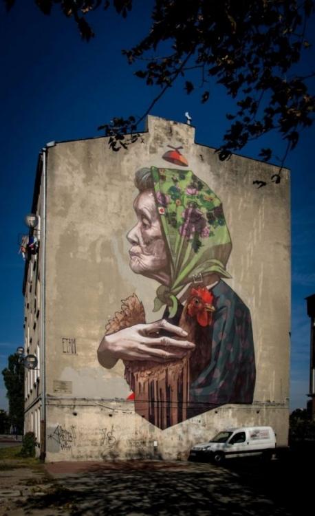 Murale - sztuka, która powraca do polskich miast. Daj się zaskoczyć!