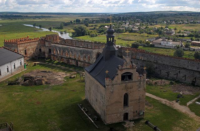 Zamek Sieniawskich w Międzybożu