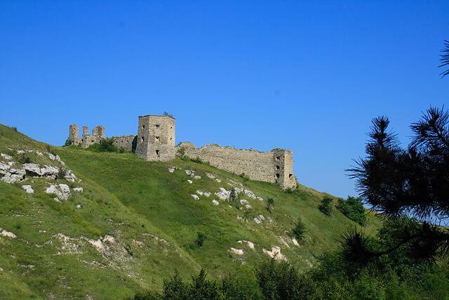 Zamek w Kudryńcach
