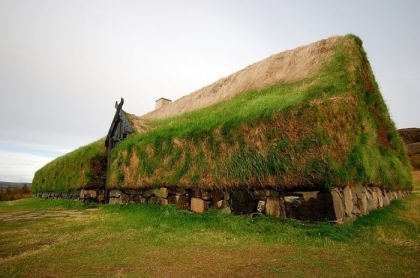 Rekonstrukcja Długiego Domu Wikingów