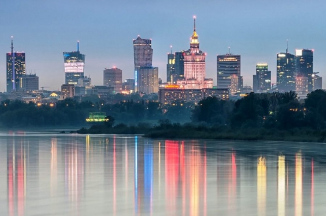 Skyline i krajobraz Warszawy - nowe budynki