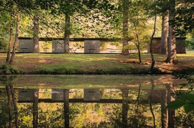 Kategoria architektura mobilna: Pawilon Kąpielowy Tossols-Basil, Olot, Hiszpania. Autor: Tzu Chin Yu/APA19/Sto