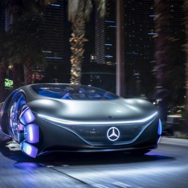 VISION AVTR - mercedes - designerskie i koncepcyjne auto przyszłości