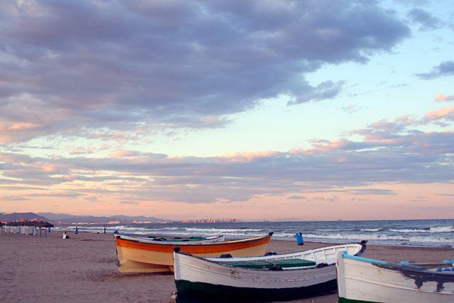walencja - plaża el cabanyal