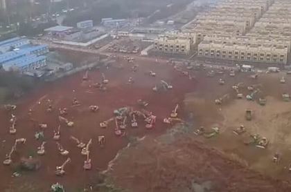 koronawirus szpital wuhan miasto