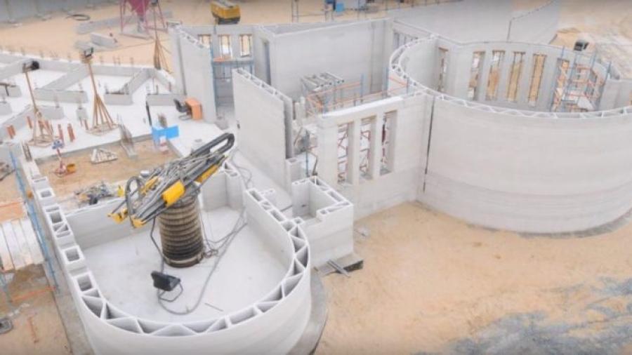 największy budynek z drukarki 3D w dubaju