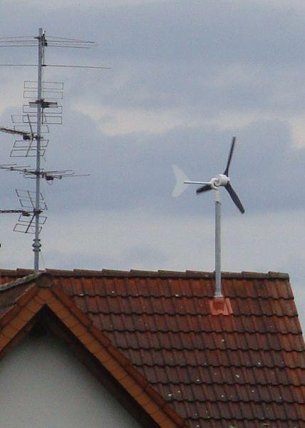 turbina wiatrowa w domu