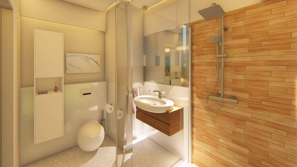 najlepsze projekty wnętrz - łazienka