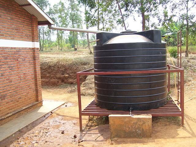 instalacja do zbierania wody deszczowej