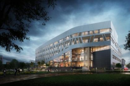 Szkieletowy ekologiczny budynek - zero emisji - zero carbon w Kandzie