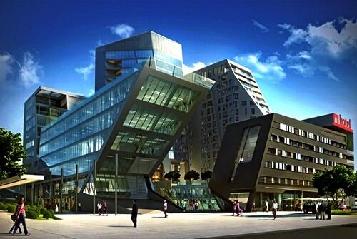 budynek nowowczesna architektura