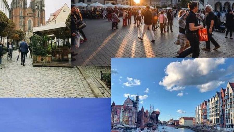 Najpiękniejsze miasta w Polsce