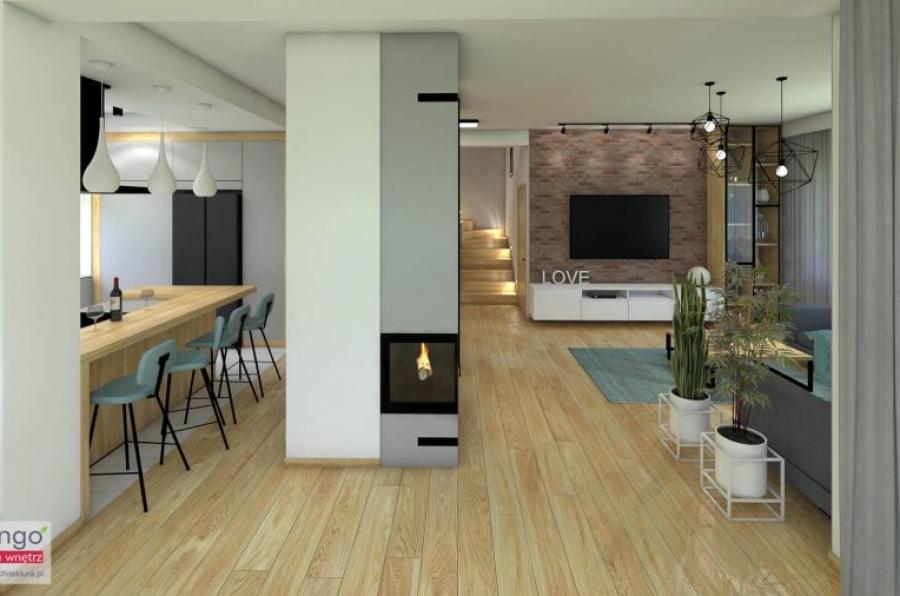 Przytulny dom w stylu industrialnym