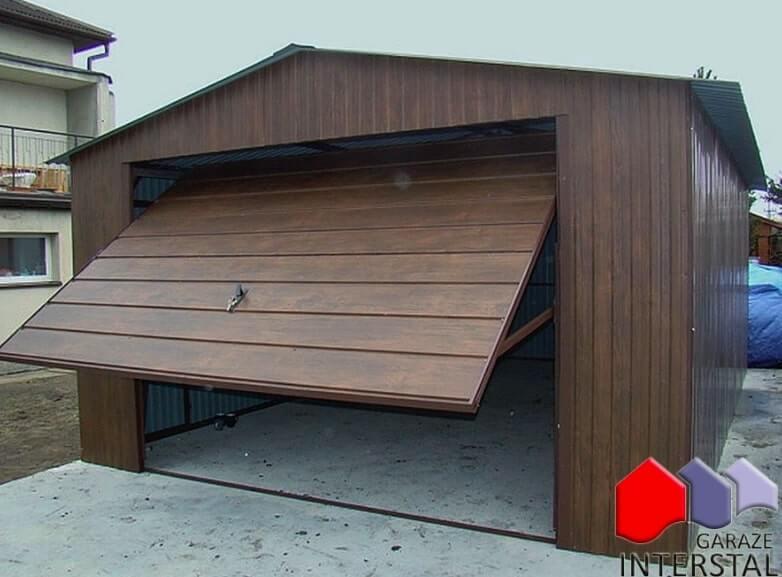 garaż drewnopodobny Interstal