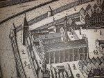 braniewo - stary rysunek miasta