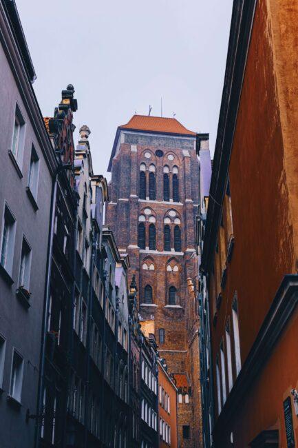 kościół mariacki w gdańsku