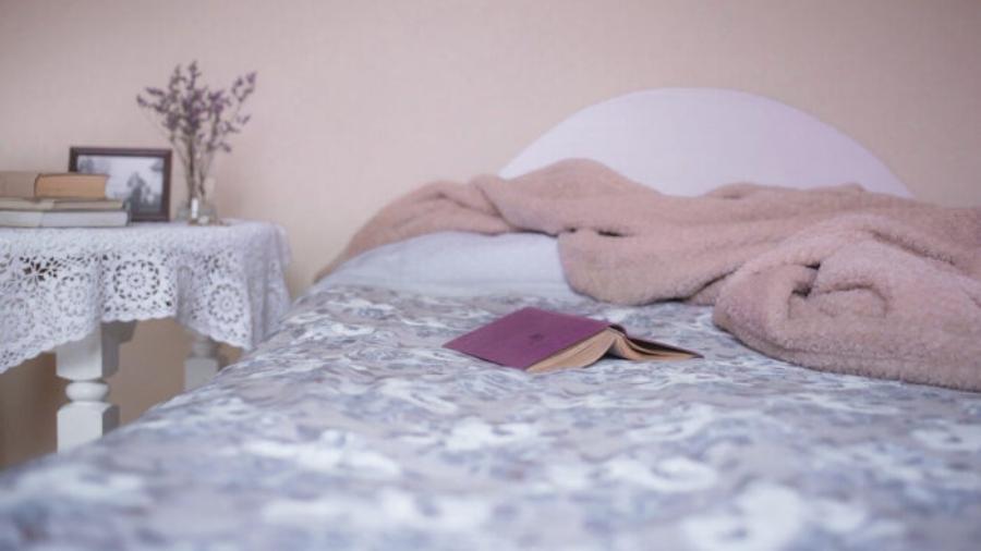 sypialnia na wiosnę