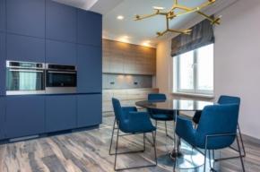 nowoczesne lampy do salonu z aneksem kuchennym