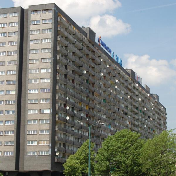 superjednostka - katowice - architektura modernistyczna