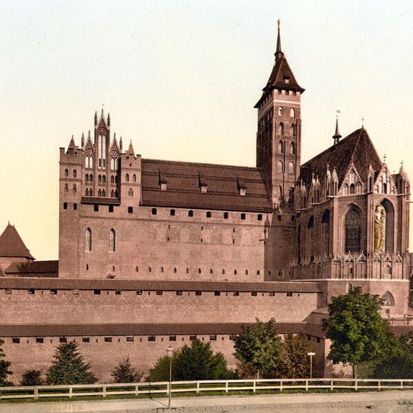 Zamek w Malborku 1900