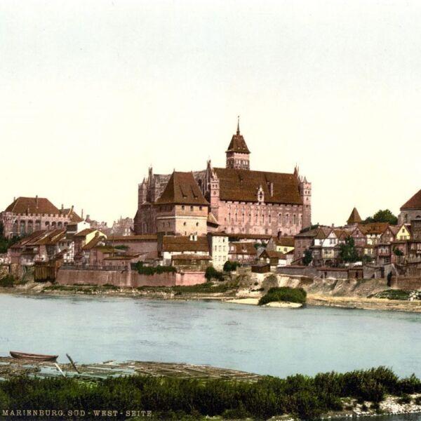 Zamek w Malborku 1890-1900