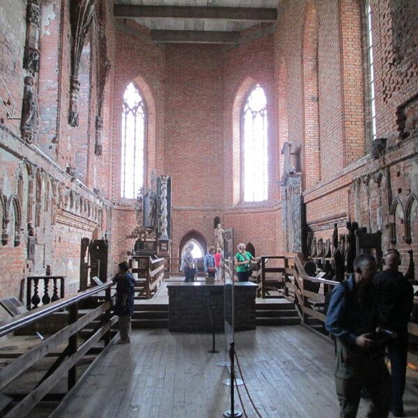 Zamek w Malborku - wnętrza