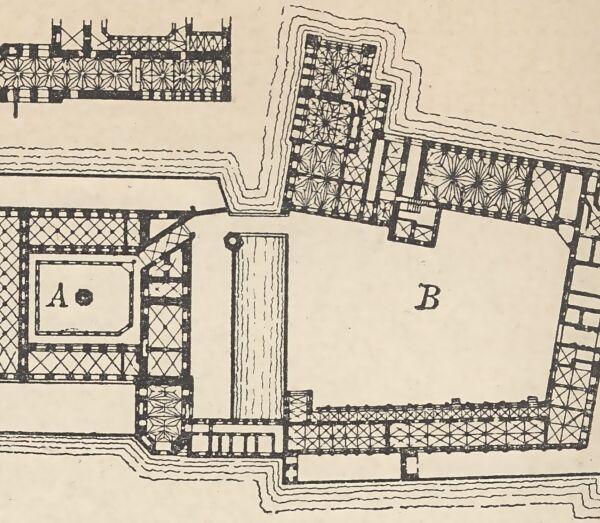 Zamek w Malborku - rzut