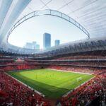 Międzynarodowy Stadion Piłkarski w Xi'an.