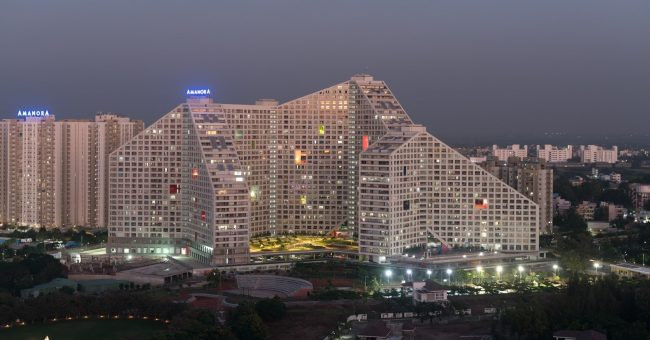Pune-w-Indiach-Projekt-architektoniczny-Future-Towers-MVRDV